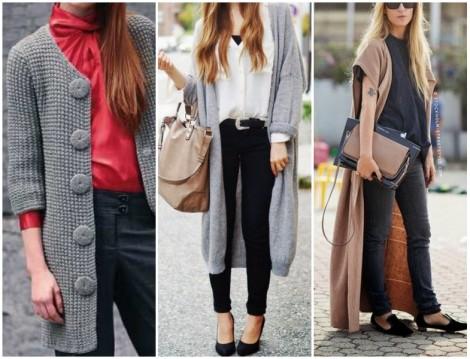 Uzun Dış Giyim Modelleri