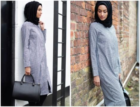 İnayah 2014-2015 Sonbahar Kış Tesettür Giyim Modelleri