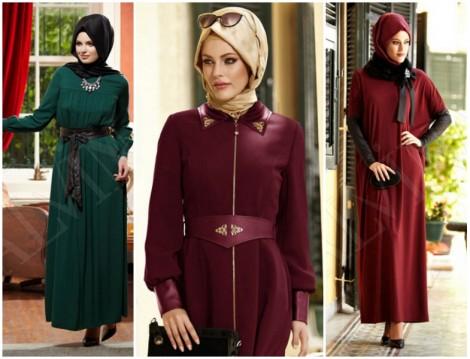 Alvina 2014-2015 Sonbahar Kış Tesettür Giyim Modelleri