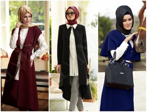 Alvina 2014-2015 Sonbahar Kış Uzun Yelek Modelleri
