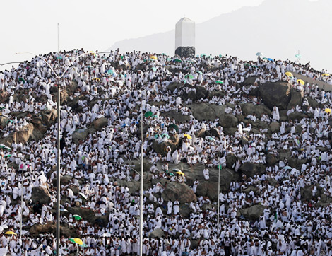 Arafat Hacı Adaylarını Bekliyor