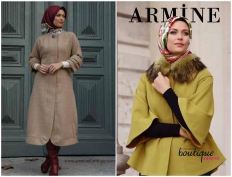 Boutique Armine 2014 2015 Sonbahar-Kış Tesettür Giyim