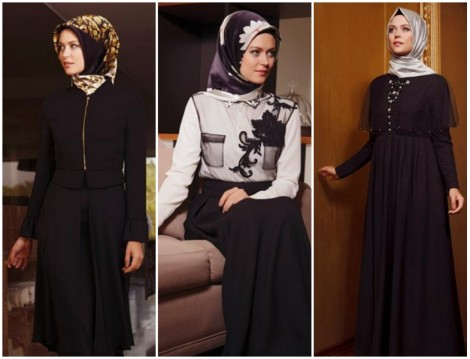 Boutique Armine 2014-2015 Sonbahar Kış Tesettür Giyim Koleksiyonu