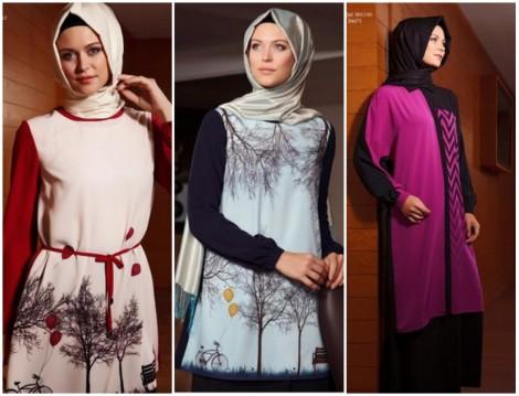 Boutique Armine 2014 2015 Sonbahar Kış Tesettür Giyim Koleksiyonu
