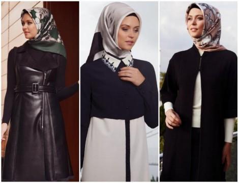 Boutique Armine 2014 2015 Sonbahar-Kış Tesettür Giyim Koleksiyonu