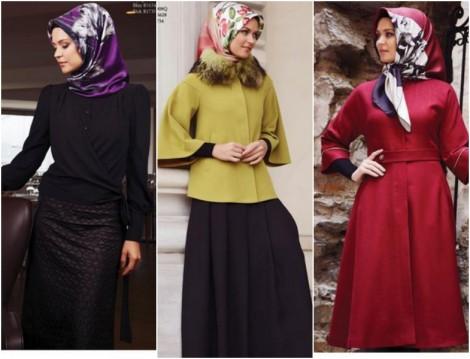 Boutique Armine 2014-2015 Sonbahar Kış Tesettür Giyim Modelleri