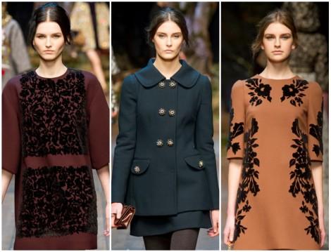 Dolce Gabbana 2014 2015 Sonbahar Kış Koleksiyonu