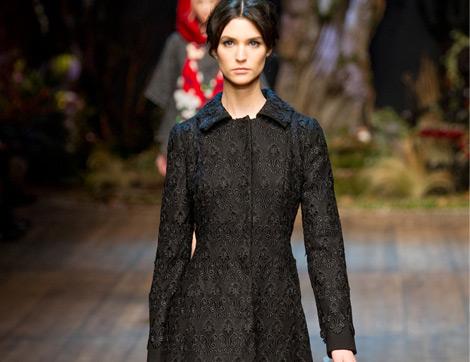 Dolce & Gabbana 2014-2015 Sonbahar Kış Koleksiyonu