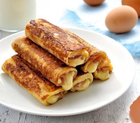 Peynirli Tost Ekmek Rulo Tarifi