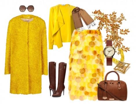 Sonbahara Özel Sarı Kombinler