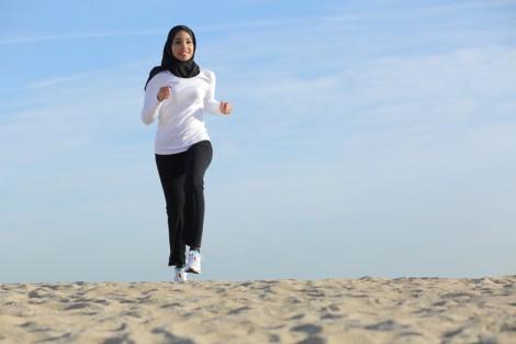 Spor Yapan Müslüman Kadın