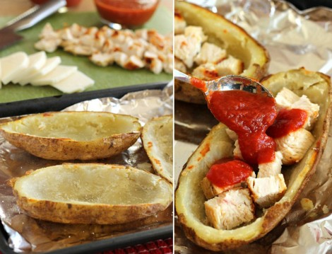 Tavuklu Patates Sandalları