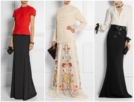 Uzun Etek Modelleri 2015