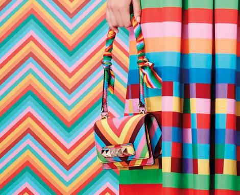 Valentino Rainbow 2014 Çanta Trendleri