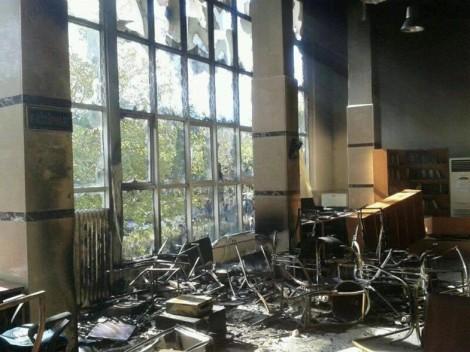 Yakıp Yıkılan Kütüphaneler
