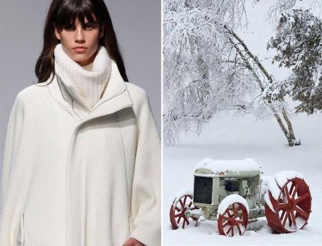 Beyaz Kıyafetleri Kışın Nasıl Kullanmalı