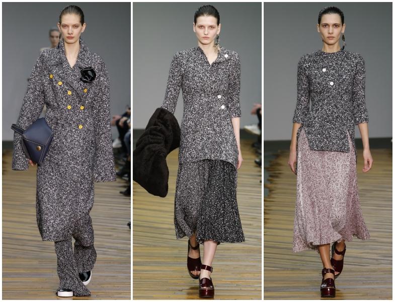 Celine 2014-2015 Sonbahar Kış Gri Renk Giyim Modelleri
