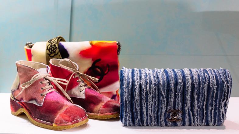 Chanel 2015 İlkbahar Yaz Ayakkabı Çanta Modeli