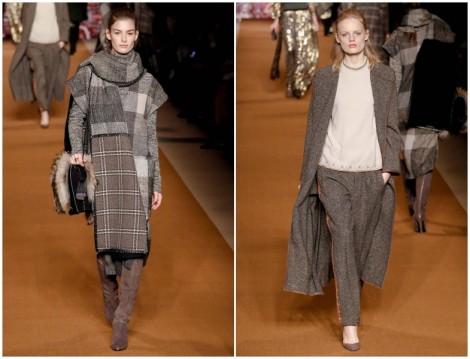 Etro 2014-2015 Sonbahar Kış Gri Renk Giyim Modelleri