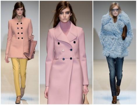 Gucci 2014-2015 Sonbahar Kış  Soft Renk Giyim Modelleri