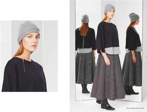 Kayra 2015 Kareli Etek Modeli