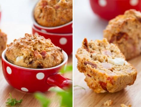 Kuru Domatesli Muffin Tarifi