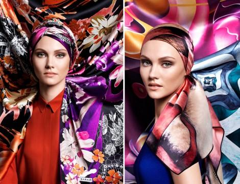 Sarar 2015 Kış Eşarp Modelleri