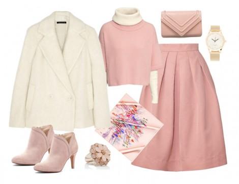 Soft Renklerle Kış Kombini