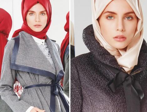 Tesettür Giyim Kombinleri 2015 Kış