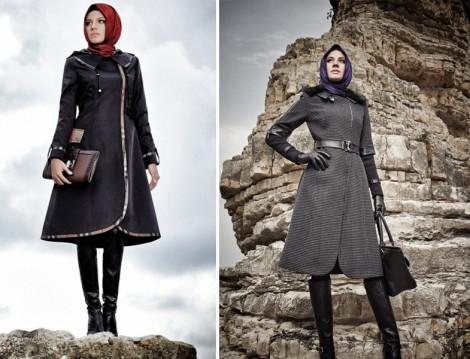 Zühre 2015 Kış Manto Modelleri