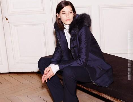 Zara Kapşonlu Mont Modeli