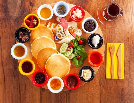 Tatlı Aşıkları İçin: Cookline Pancakes