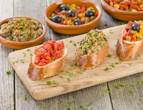 Farklı Soslarla Lezzetli Ekmekler