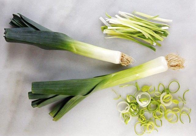 Kış Hastalıklarından Koruyan Sebzeler Pırasa