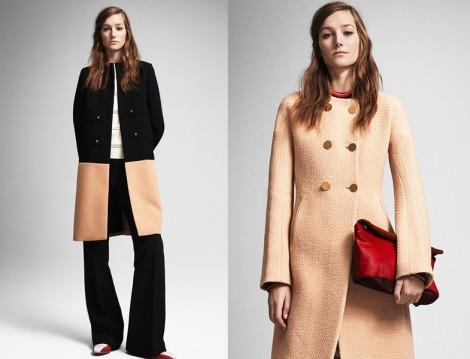 Krem Rengi Kaban ve Palto Modeli