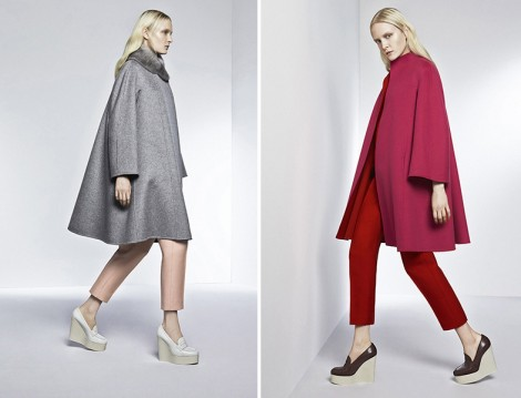MaxMara 2015 Kaz Tüyü Manto Modelleri