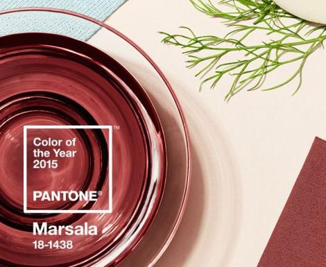 Pantone 2015 Yılı Rengi Marsala