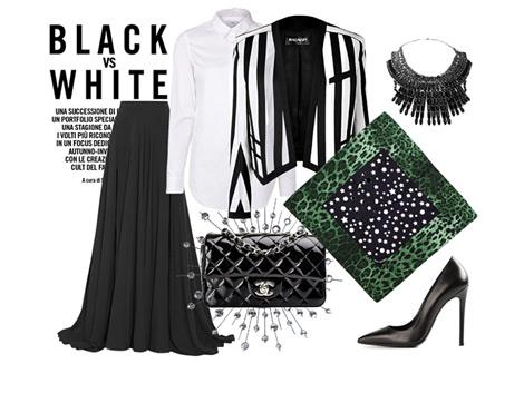 Siyah Beyazlara Renkli Dokunuş