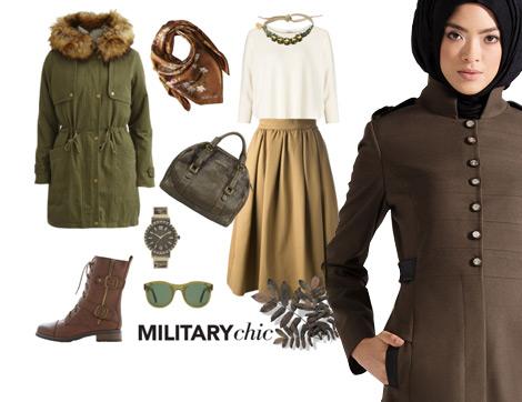 """""""Military"""" Etkisi ile 3 Farklı Stil"""