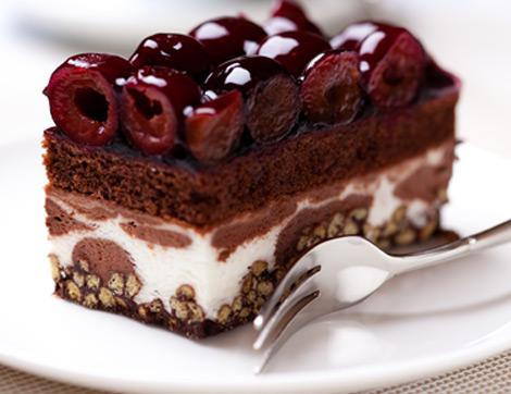 Tatlının Vişneli ve Çikolatalı Hali