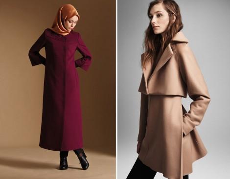 2015 Renklerinde Manto ve Kaban Modelleri