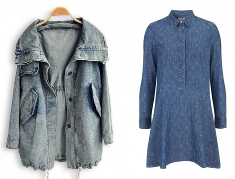 Kot Kumaş Ceket ve Gömlek Modelleri