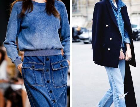 Kot Kumaştan Etek ve Pantolon Modelleri