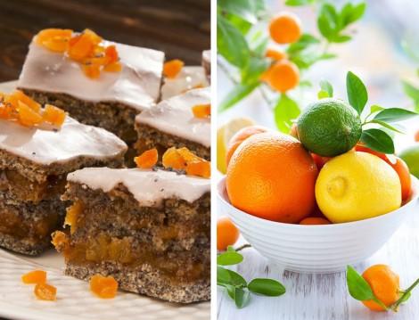 Portakal Soslu Haşhaşlı Kek