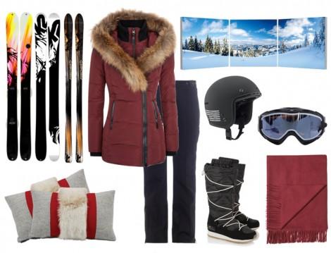 Tesettür Kayak Tatili Kombinleri 2015
