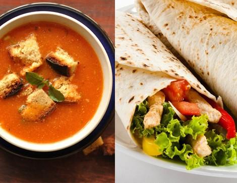 Günün Menüsü: Çorba ve Tavuklu Tortilla
