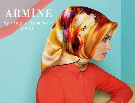 Armine 2015 İlkbahar-Yaz Eşarp Koleksiyonu
