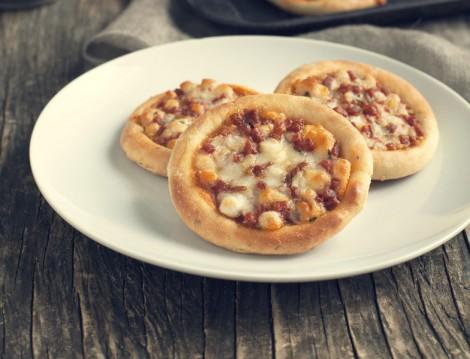 Atıştırmalık Acılı Mini Pizza