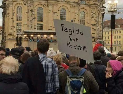 Avrupa'nın İslamofobi Anlayışı (Pegida)