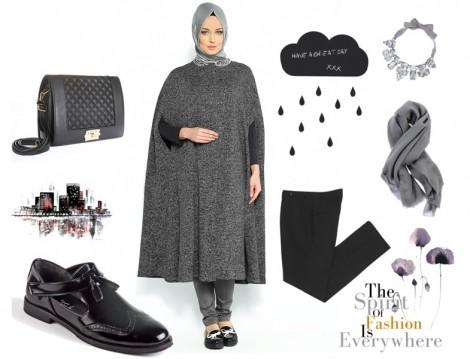 Hesaplı Tesettür Giyim Kombinleri 2015 (3)